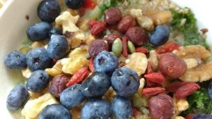oatmeal berry salad